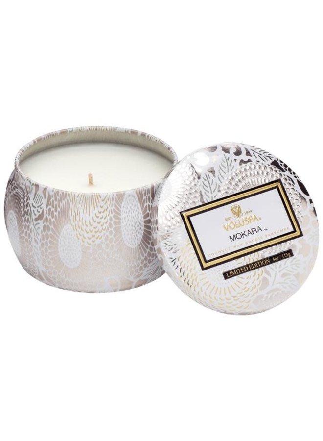 Mokara Mini Decorative Tin Candle