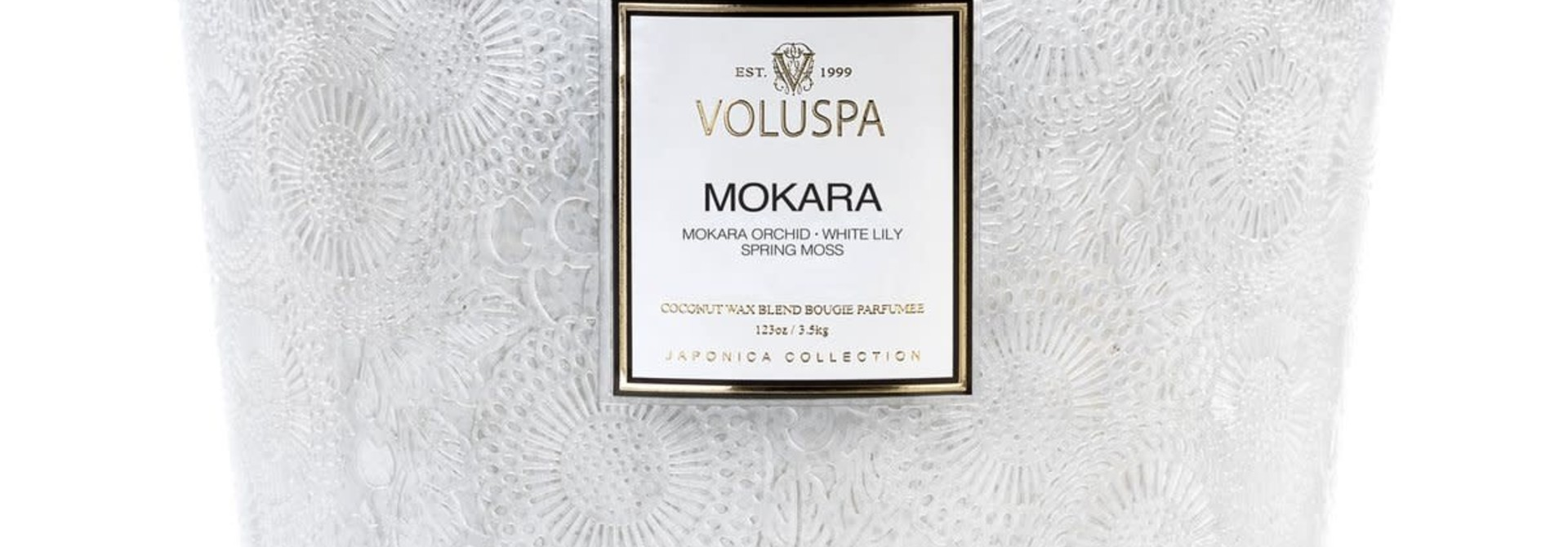 Mokara Heart 5 wick candle