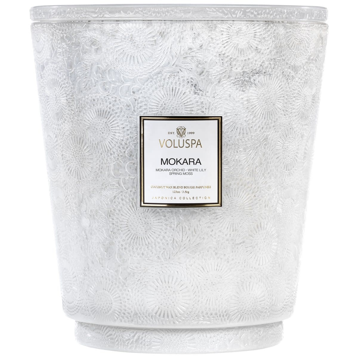 Mokara Heart 5 wick candle-1