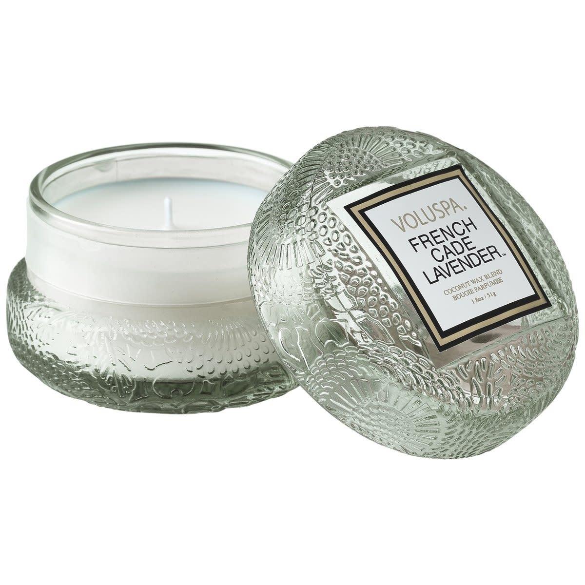 Frech Cade Lavender Macaron Candle-1