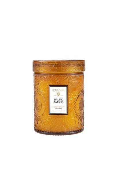 Baltic Amber 5.5 glass Jar candle