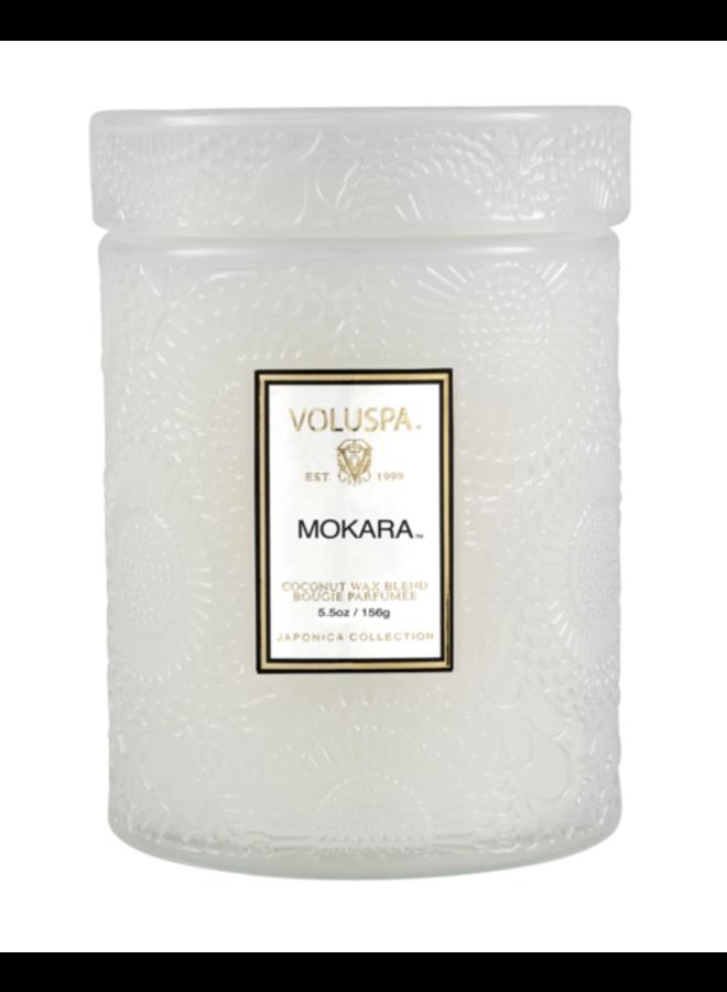 Mokara 5.5 Glass Jar Candle