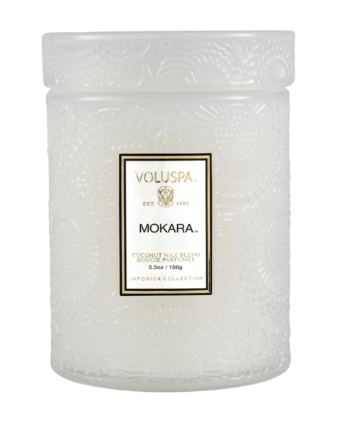 Mokara 5.5 Glass Jar Candle-1