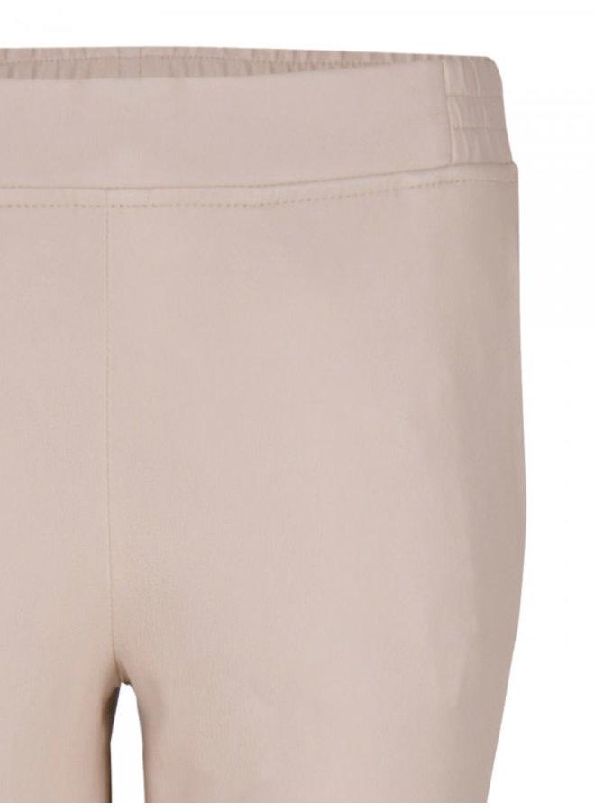 Lebon leather stretch pants Sand