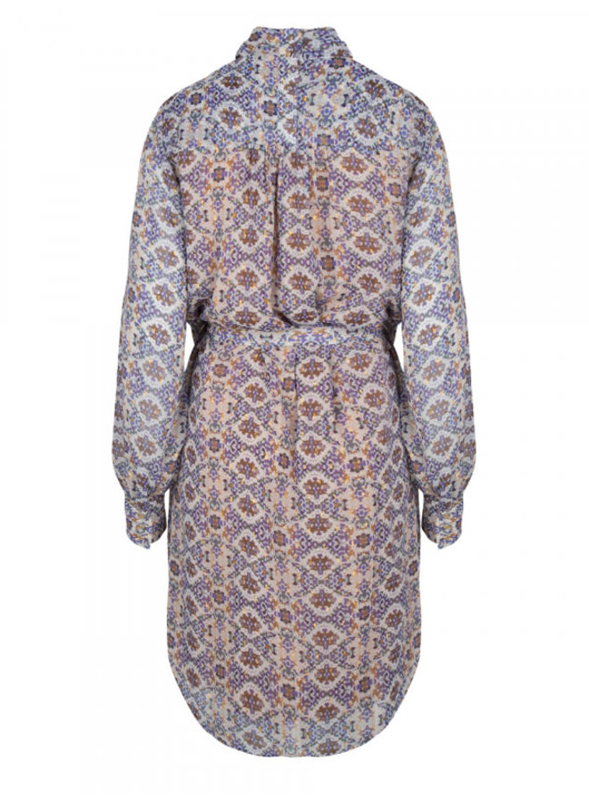 Xeres Mozaic print dress