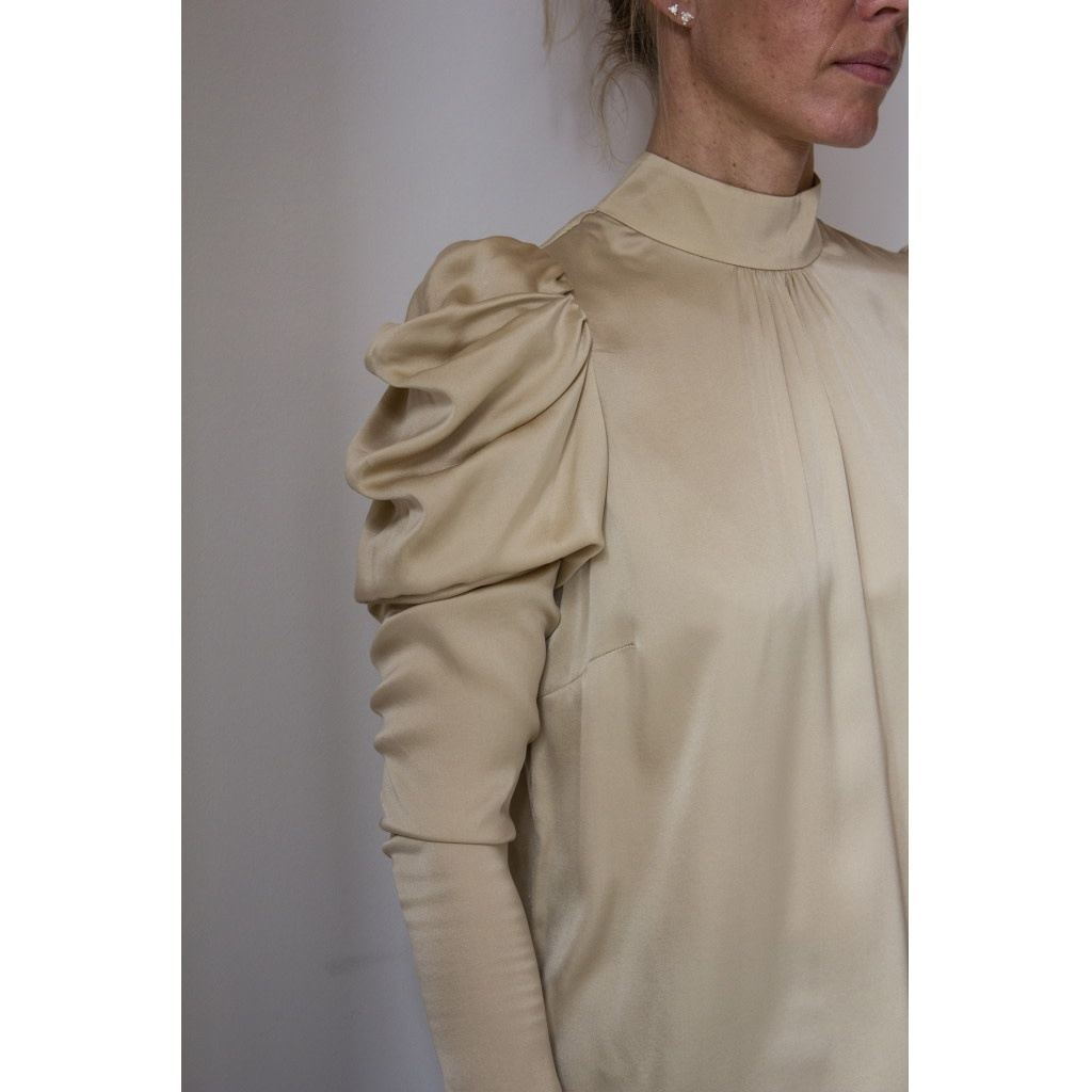 Stacy Silk Blouse-2