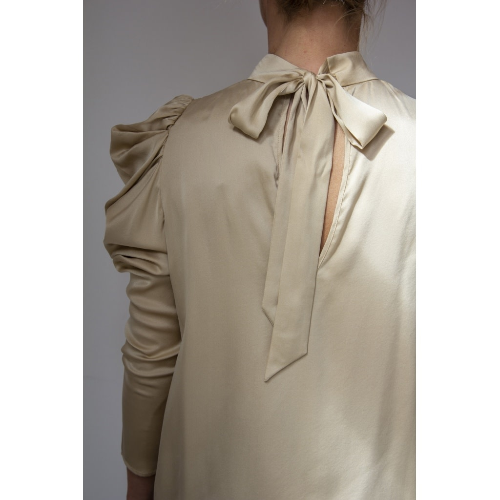 Stacy Silk Blouse-4