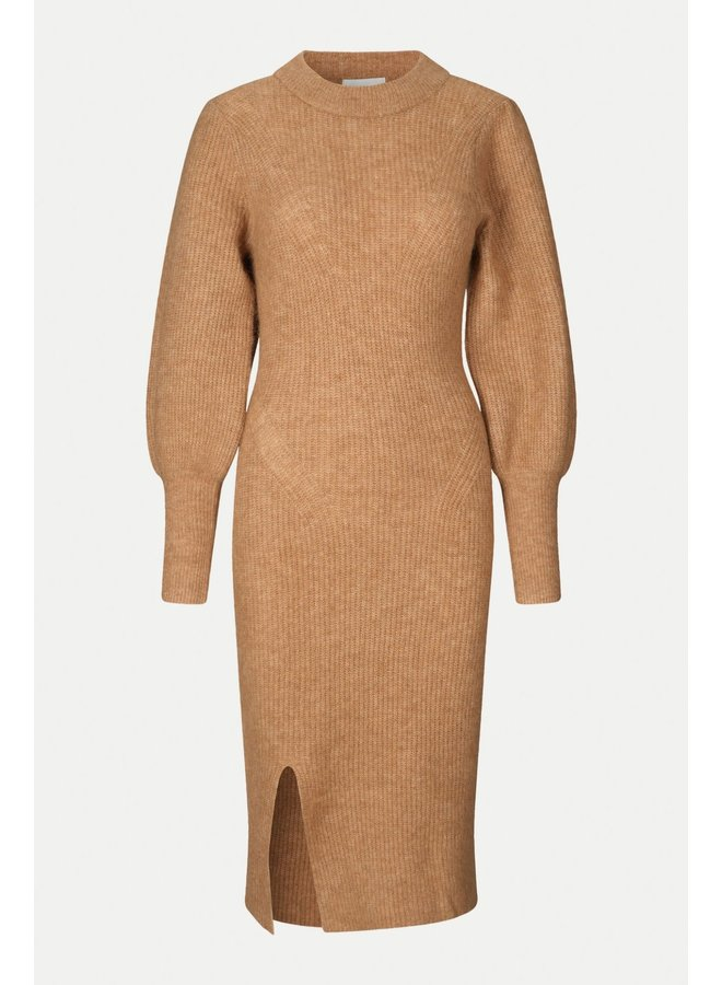 Mika knit dress camel