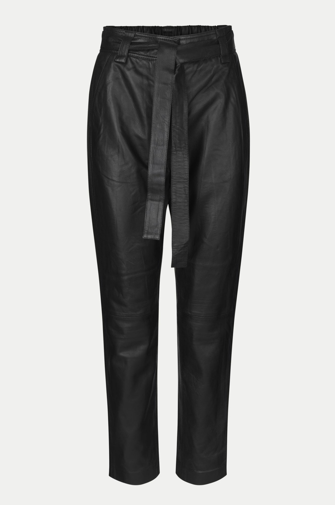 Indie  Leather Trousers-1