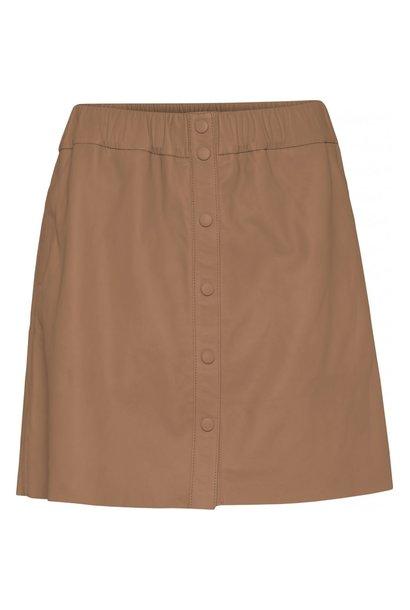 Niko Leather Skirt