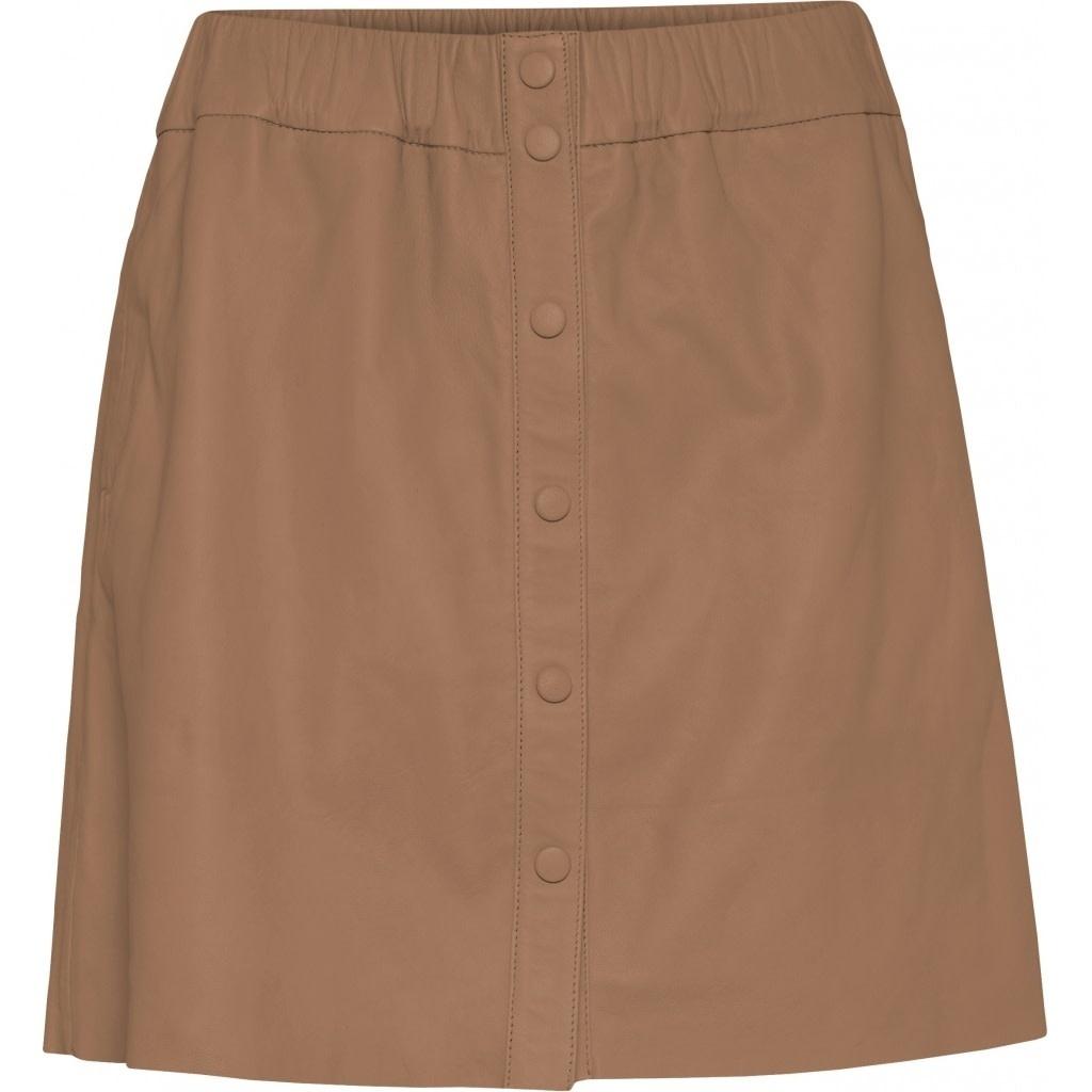Niko Leather Skirt-1