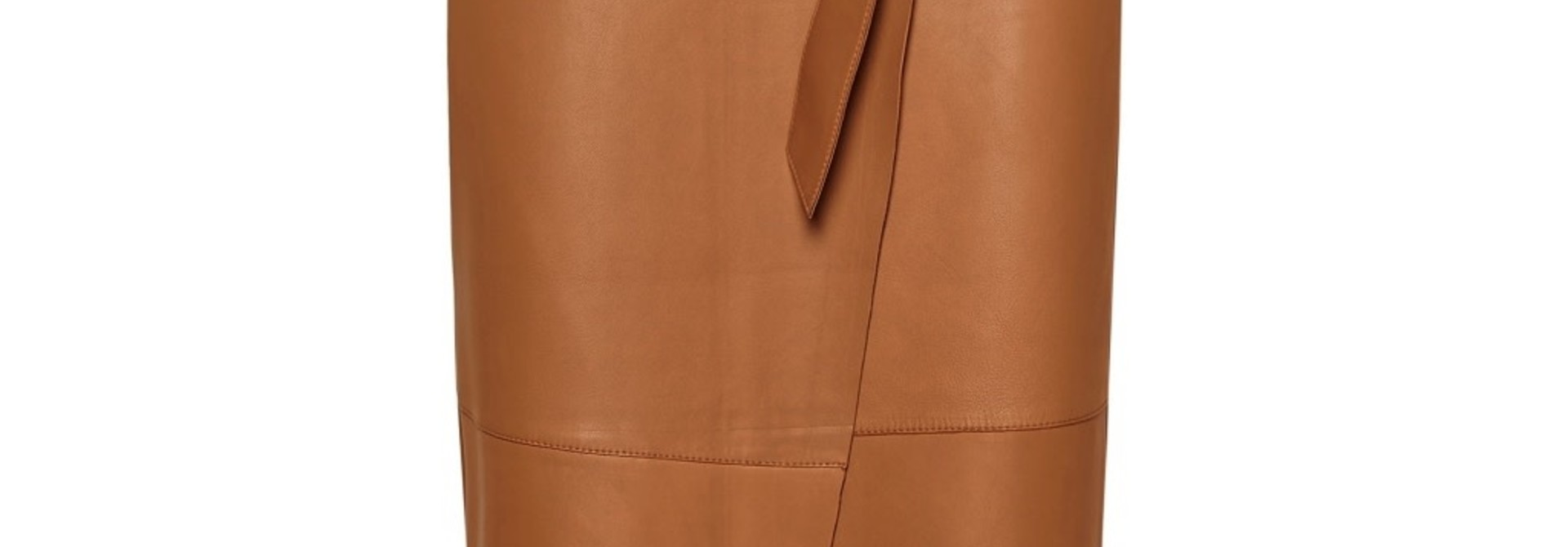 Alba Leather Skirt