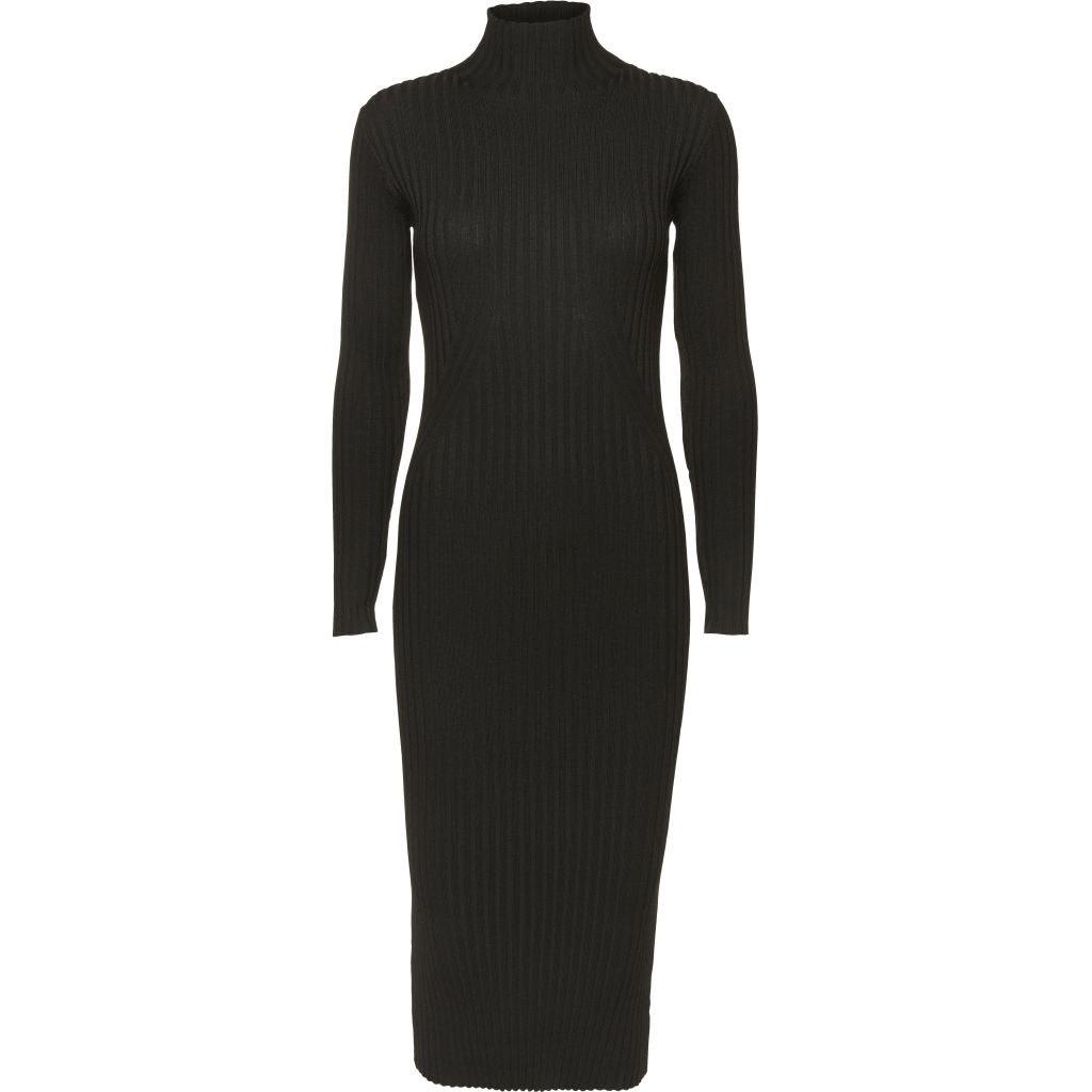 Karlina  Dress Black-1