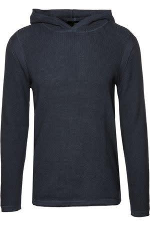 Ramon hooded knit blue-1