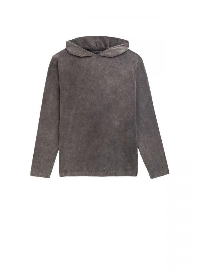 Milian Hooded longsleeve grey