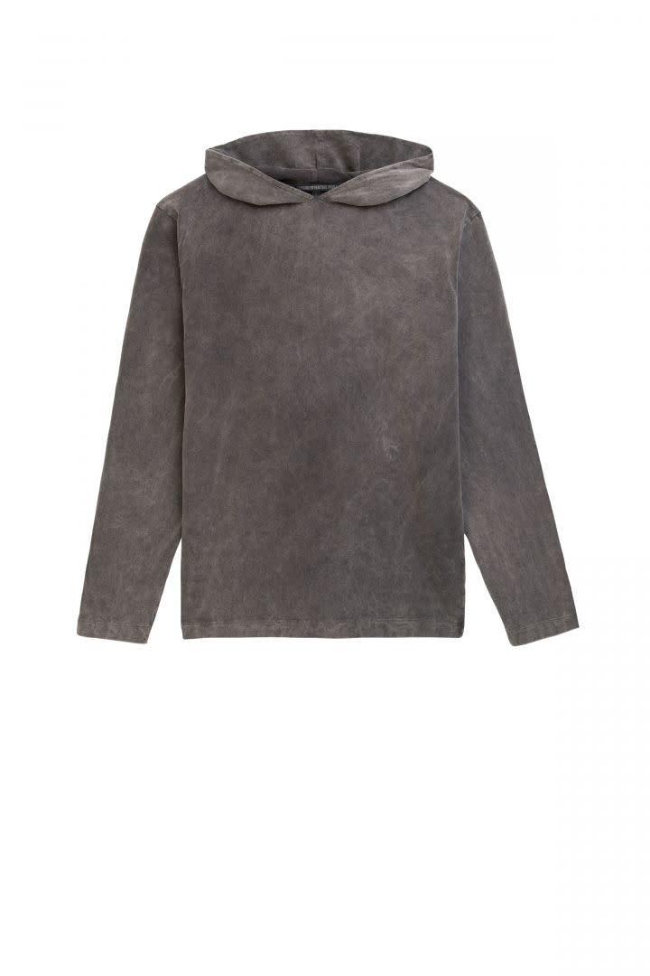 Milian Hooded longsleeve grey-1