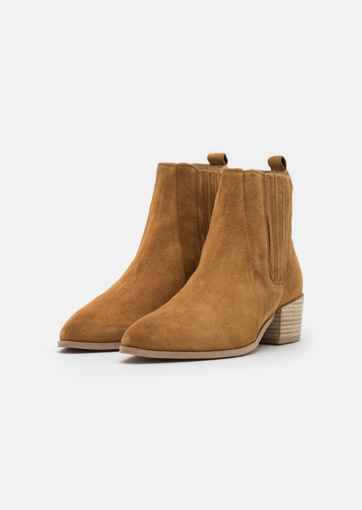 Boot Tan Suede-1