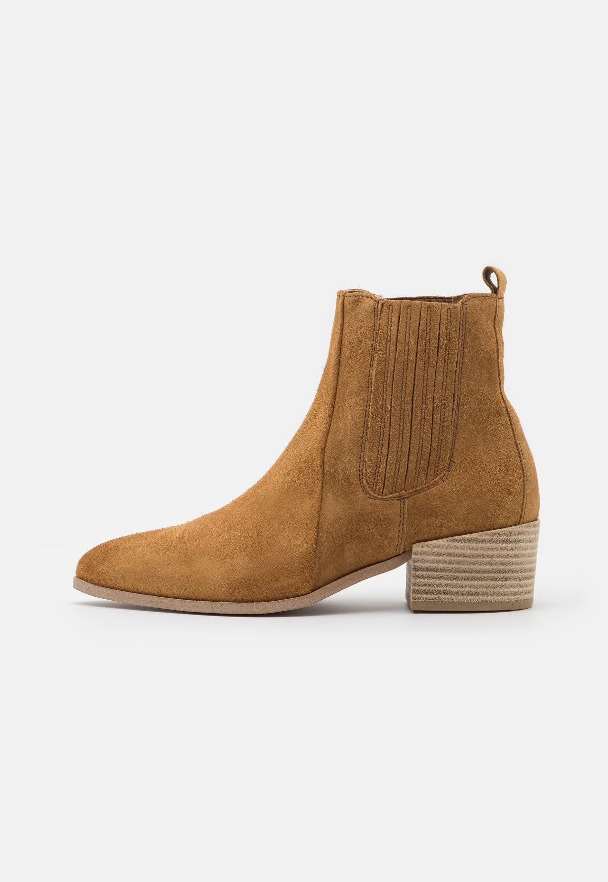 Boot Tan Suede-2