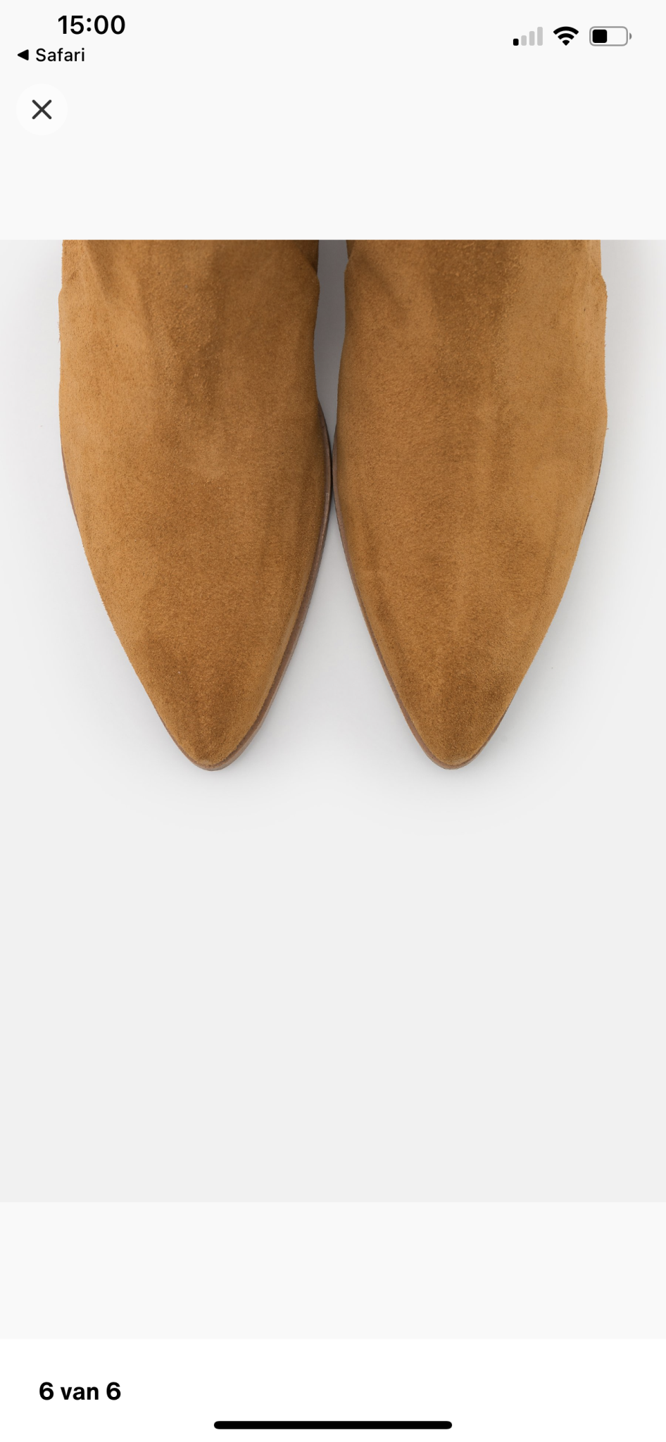 Boot Tan Suede-6