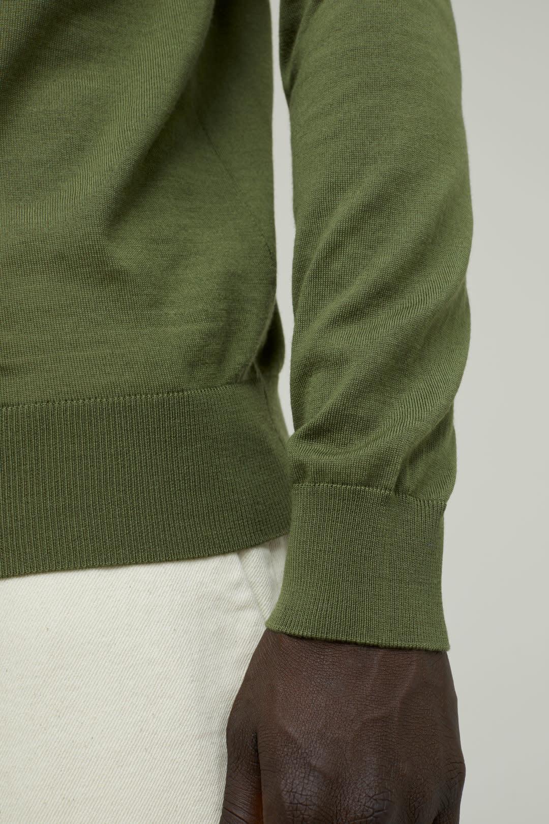 Long Sleeve Polo-2