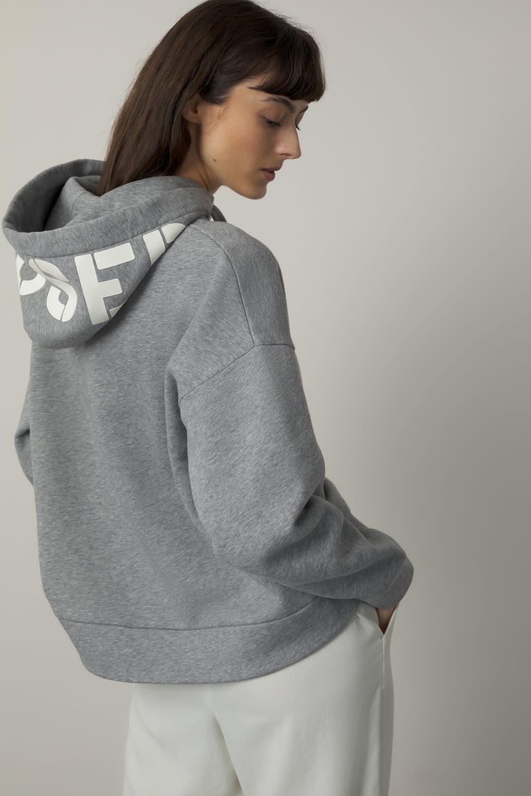Hoodie Closed Grey-1