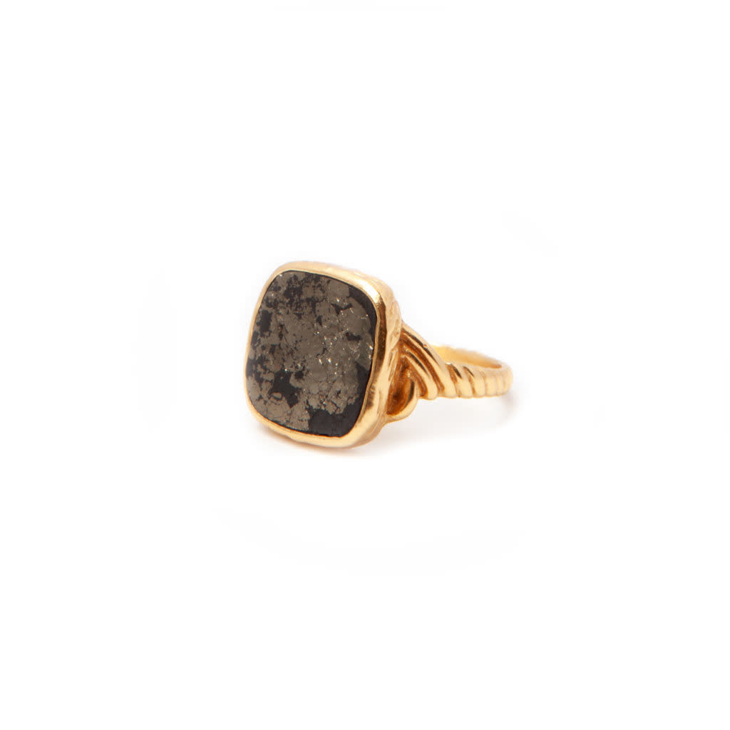 Delphine Ring Gold-1