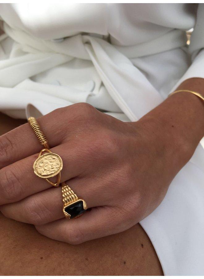 Piaf Ring Gold