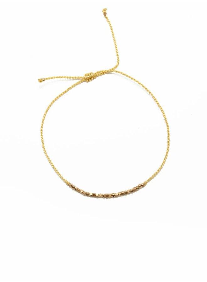 Flori beads Yellow