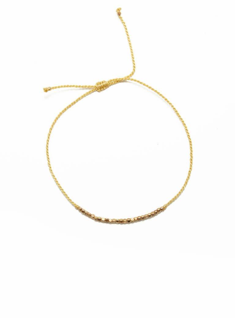 Flori beads Yellow-1