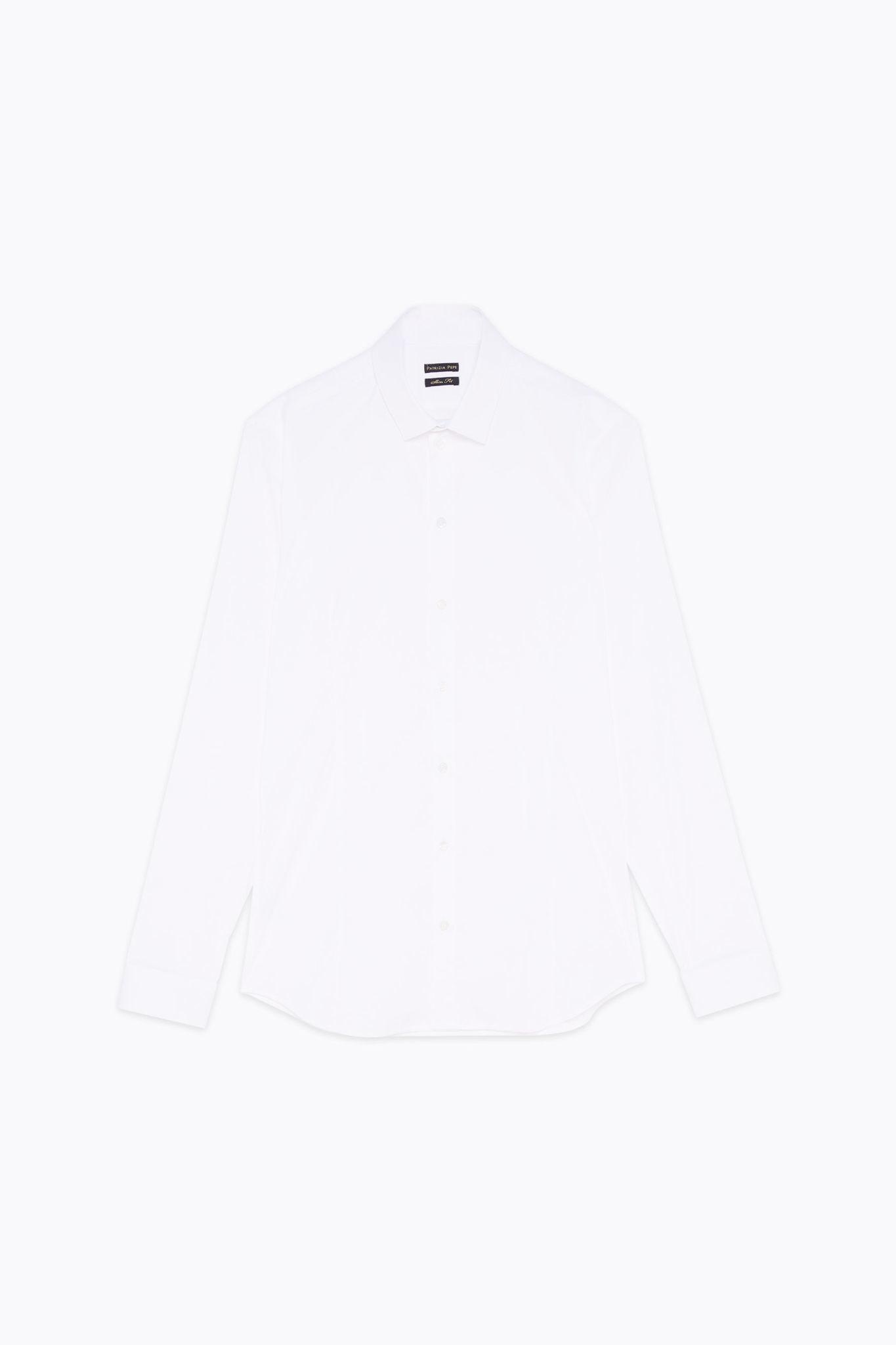 Uni shirt 5C0055 White-1