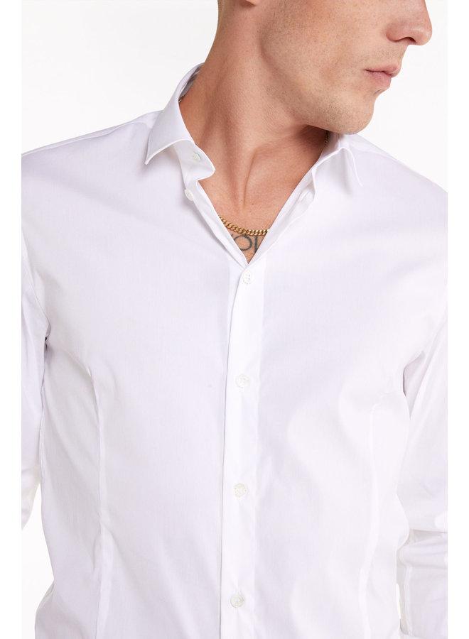 Uni shirt 5C0055 White