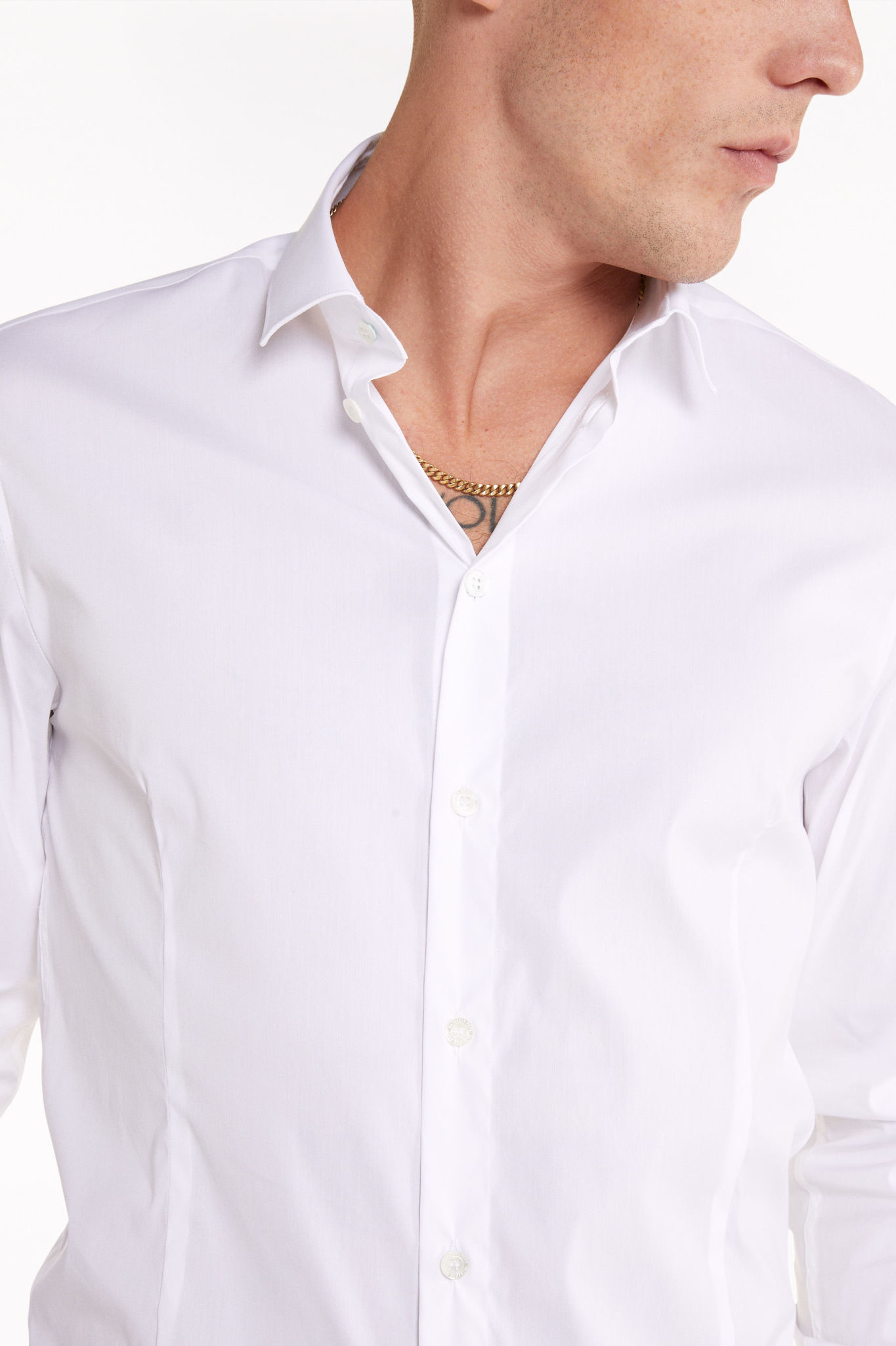 Uni shirt 5C0055 White-2