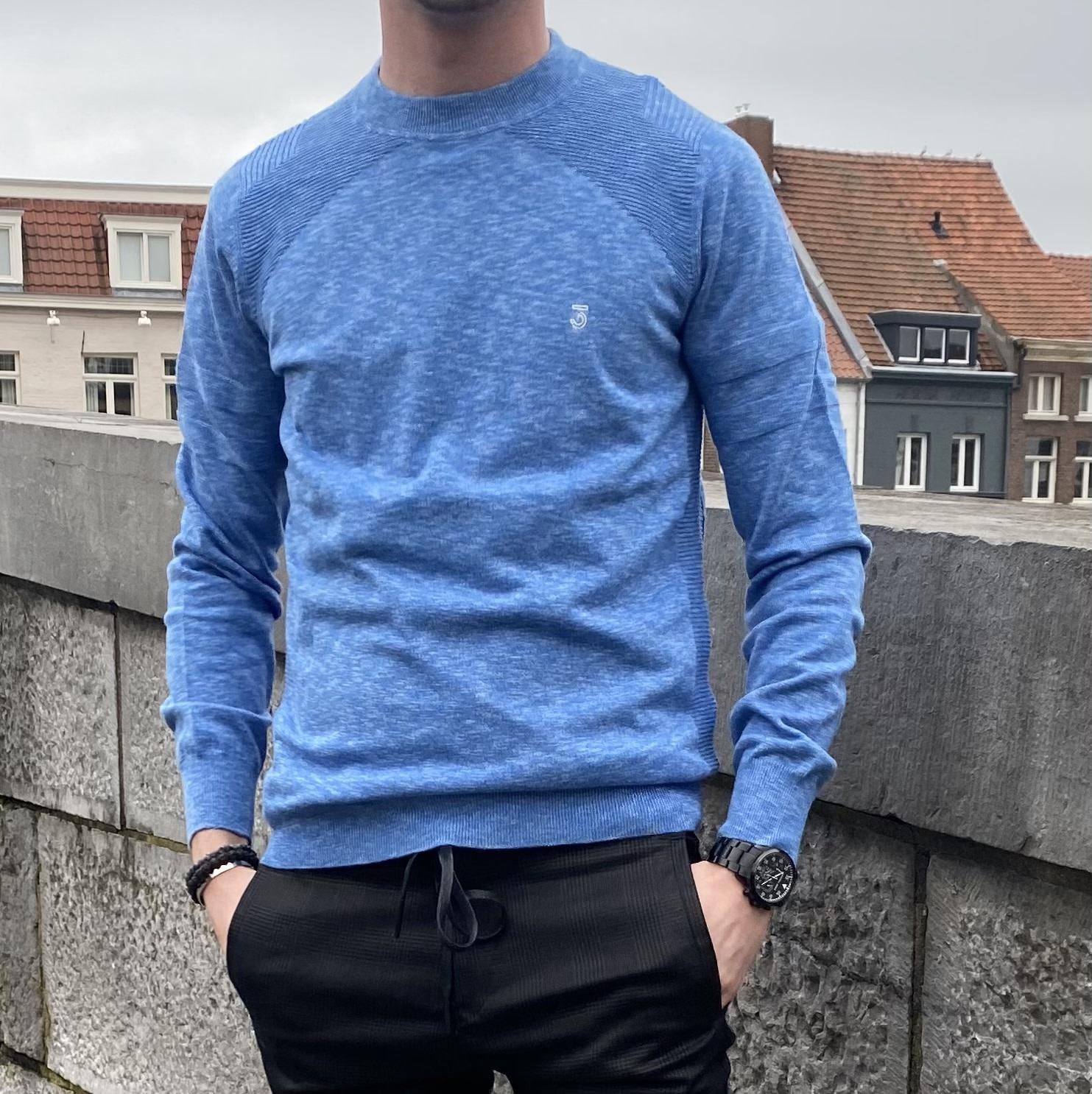 Crew Move  sweater pale Sky-1