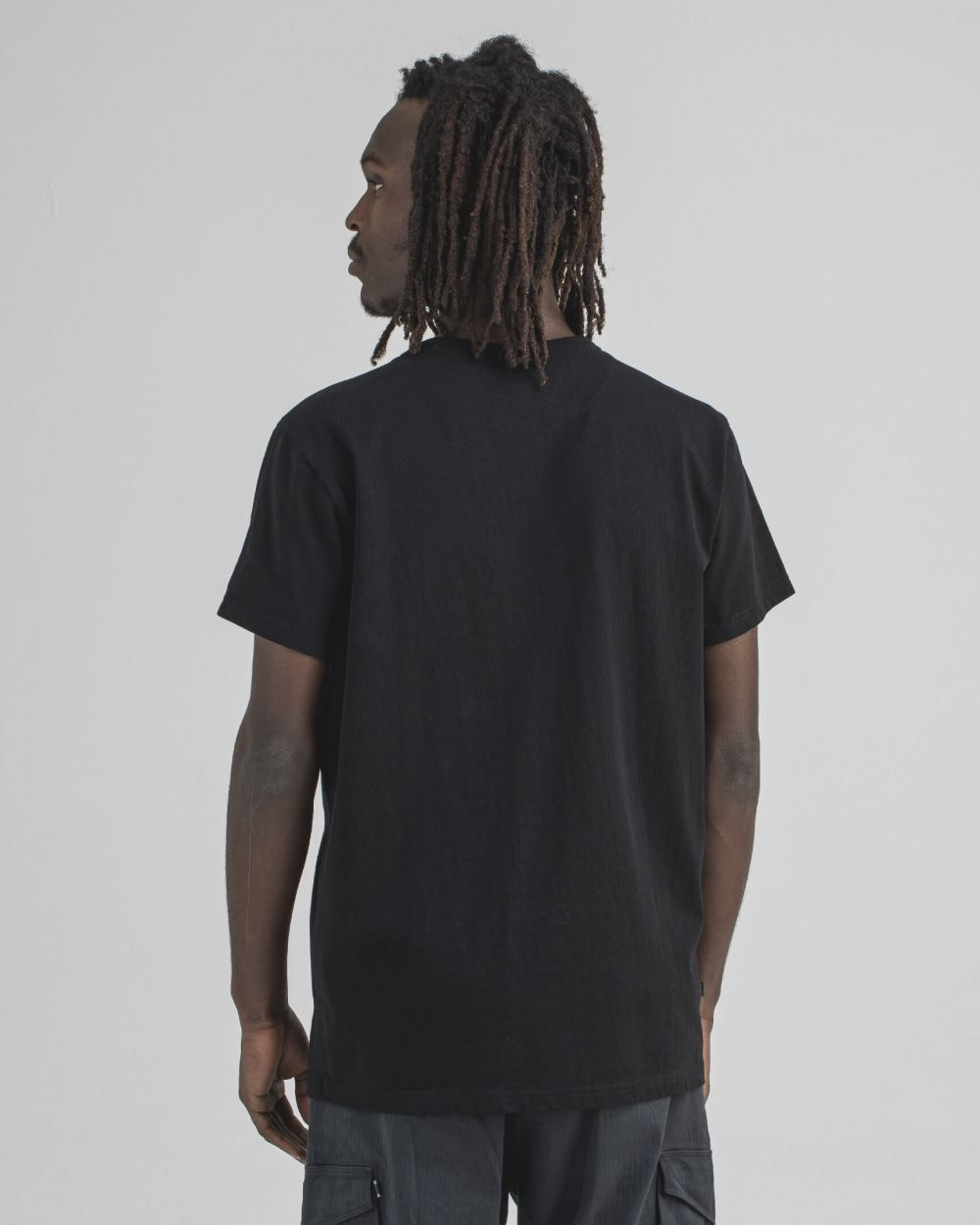 Army Tee s/s off black-3