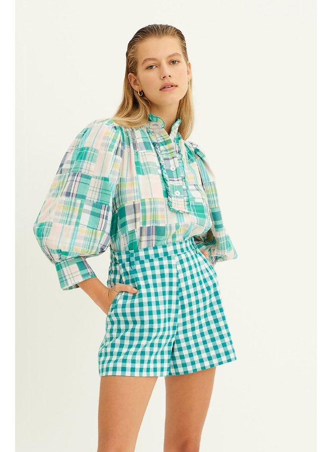 Alama blouse green