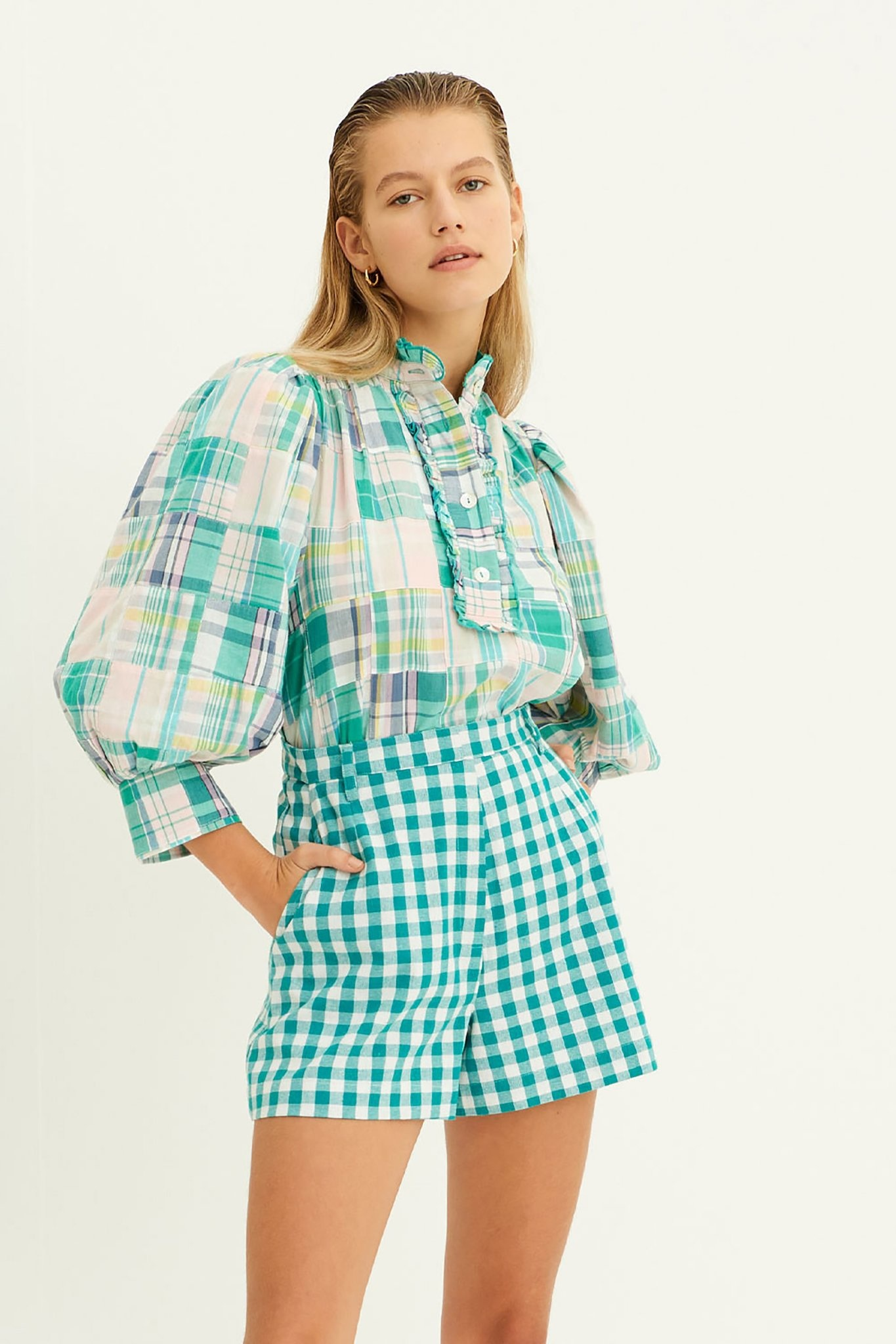Alama blouse green-1