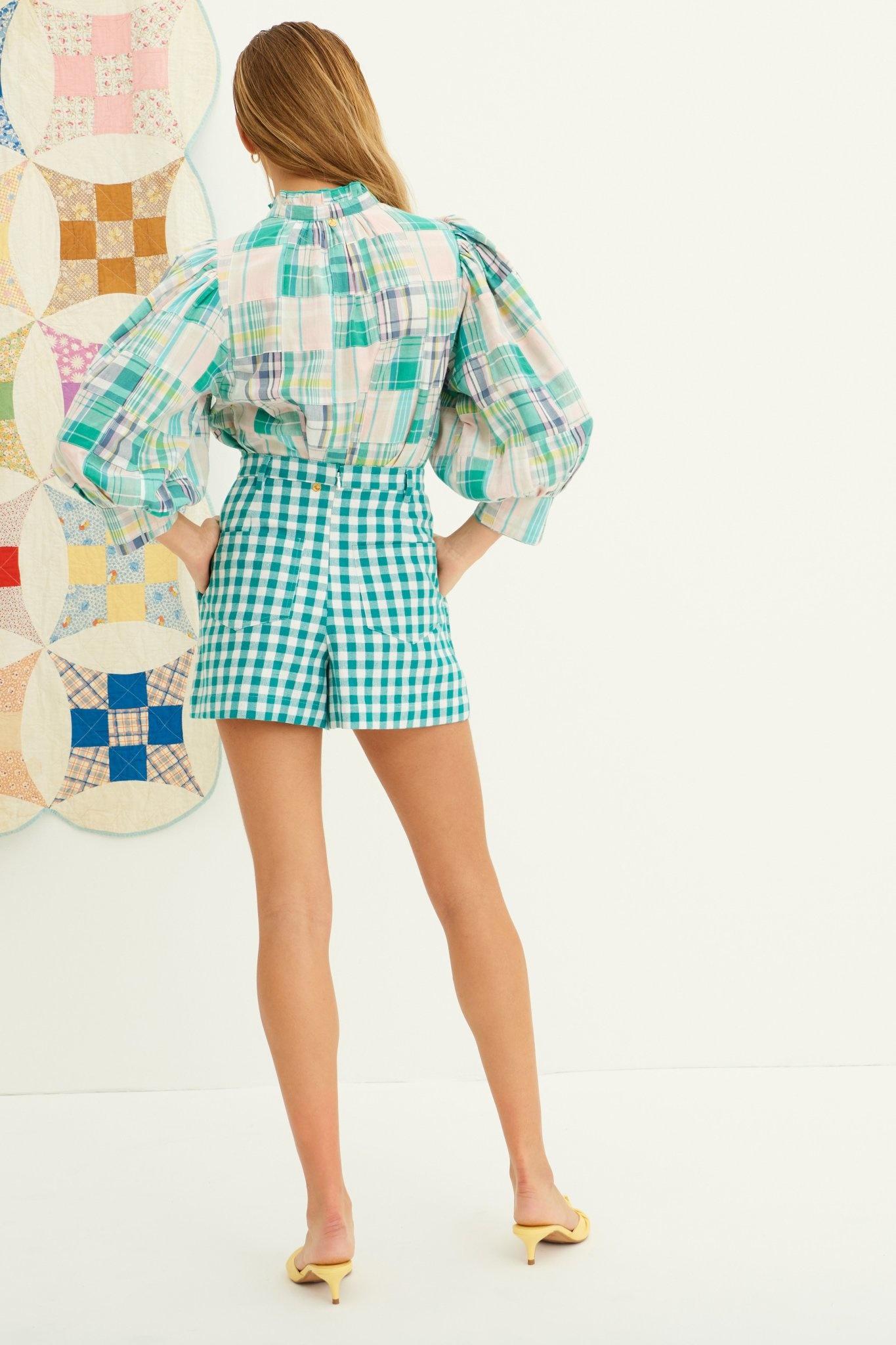 Alama blouse green-2