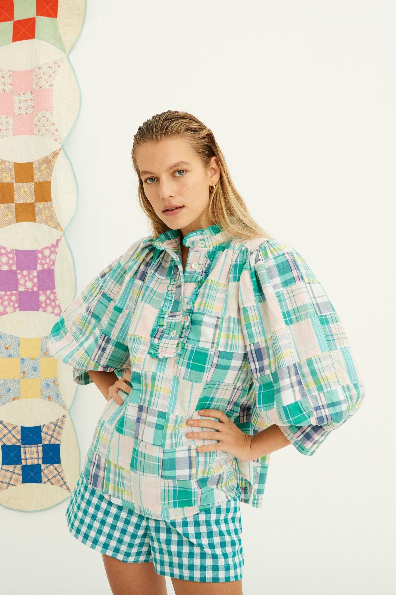 Alama blouse green-3