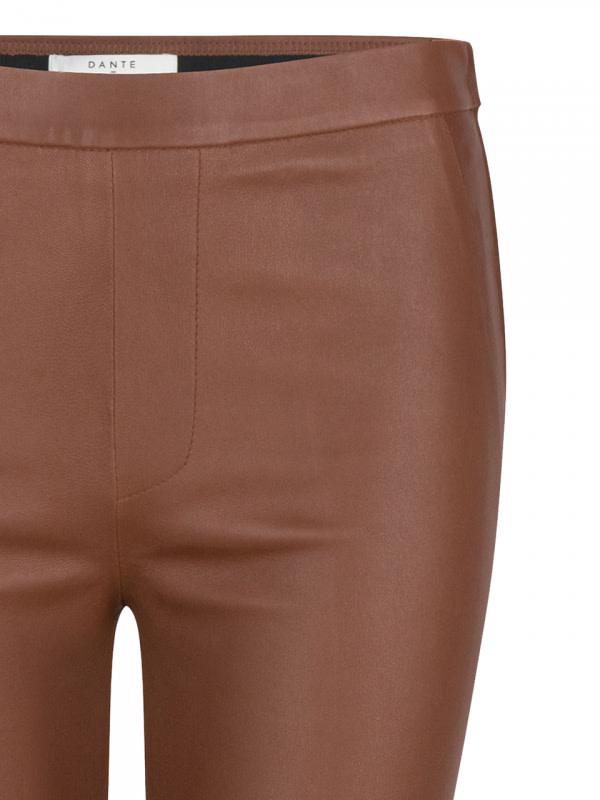 Tyson Crop Flare Leather Pants-3
