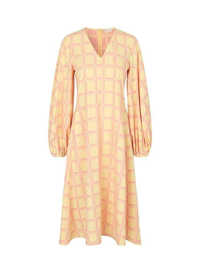 Rosen Grid Dress