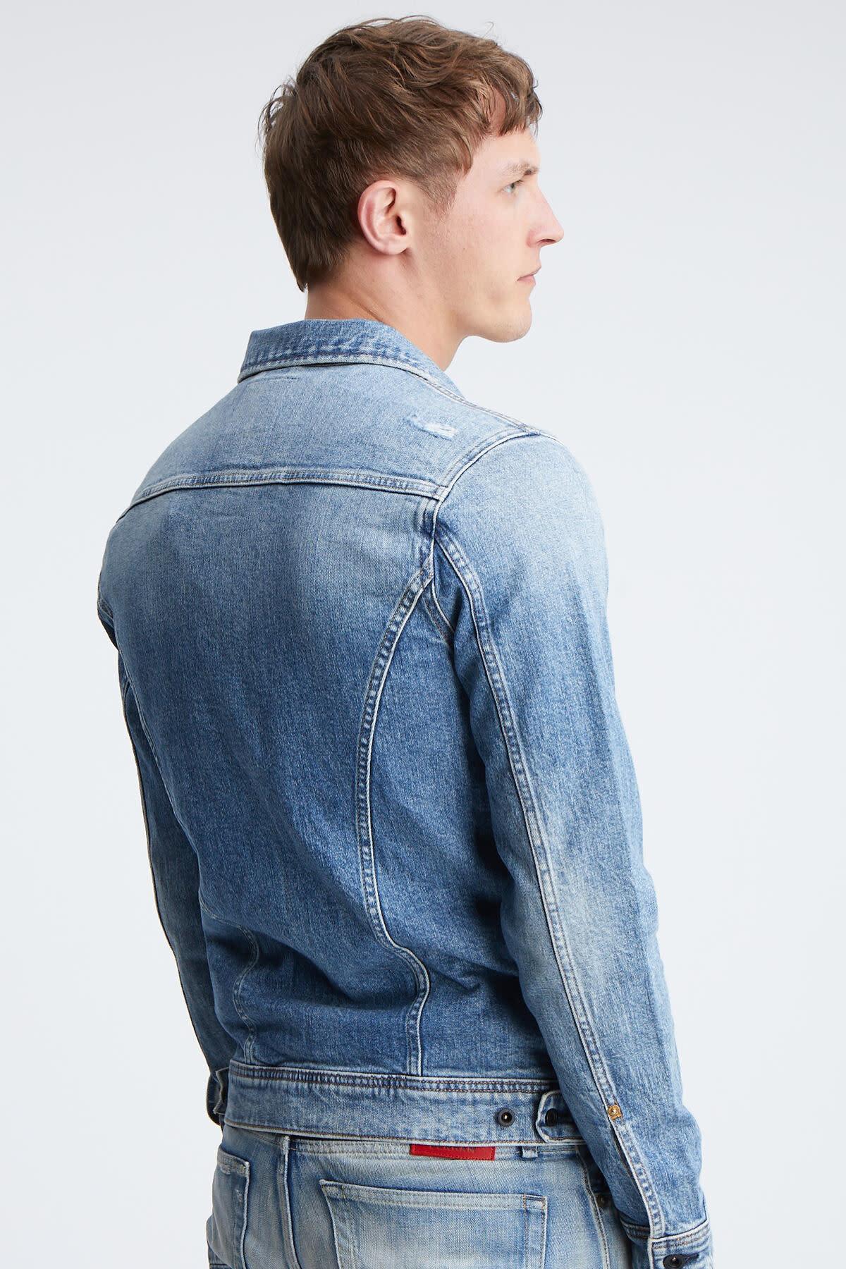 Amsterdam pocket denim jacket-3