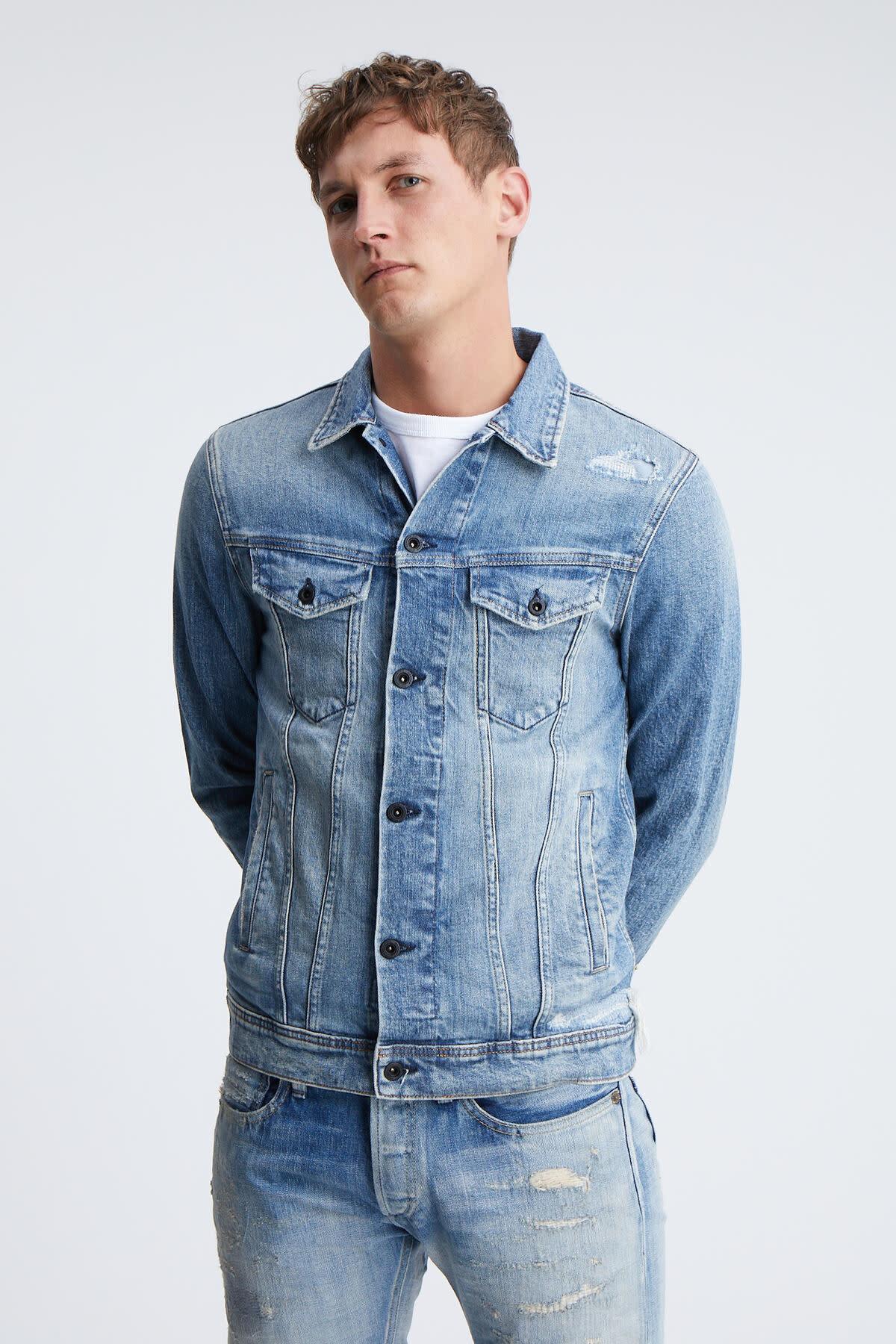 Amsterdam pocket denim jacket-2