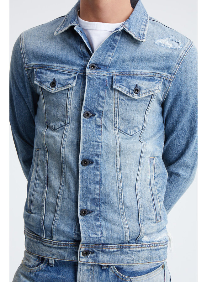 Amsterdam pocket denim jacket