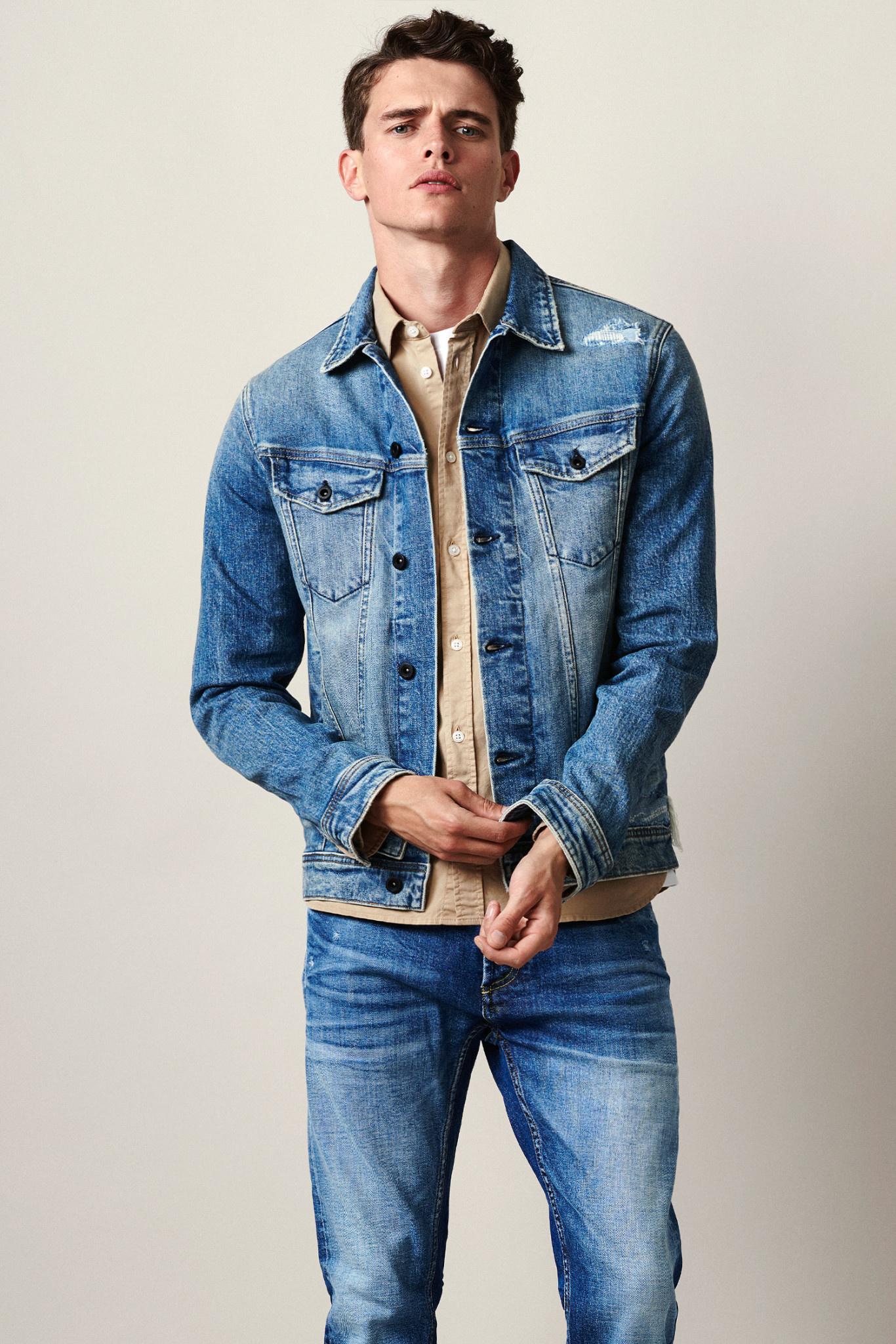 Amsterdam pocket denim jacket-1