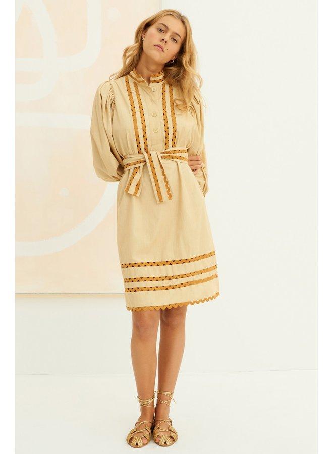Mali Dress Beige