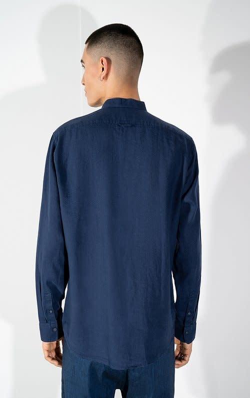 Tarok linnen shirt navy 3200-2