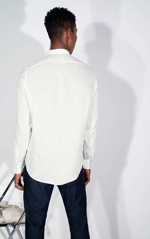 Tarok linnen shirt white 6000-2