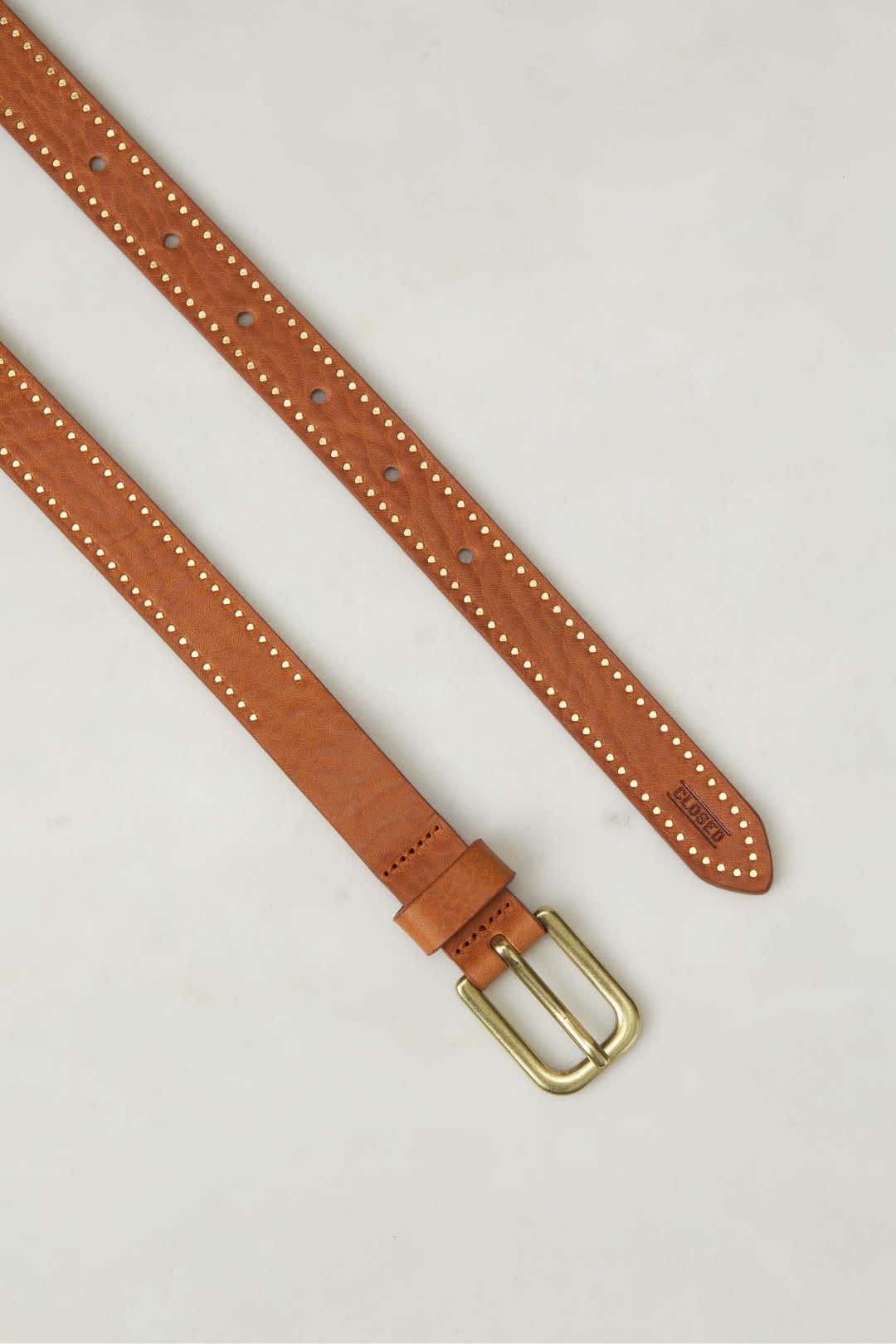 Belt caramel C90218-2