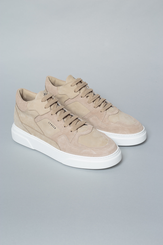 CPH111M Nubuck nature Half Top Sneaker-1