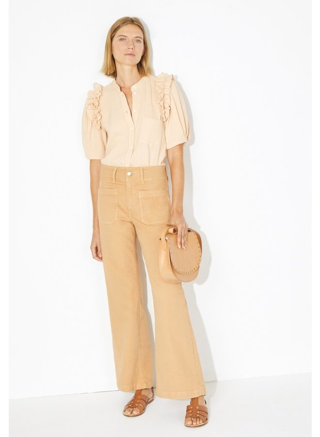 Harriet blouse Peach